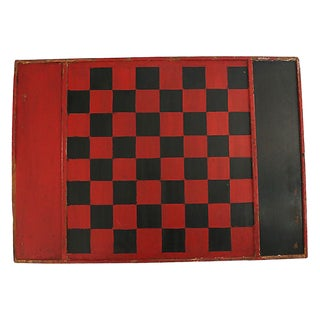 Antique Game Board From Maine For Sale