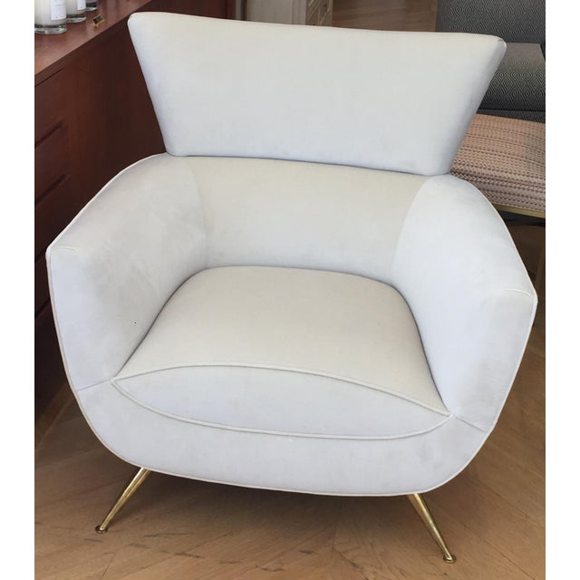 1950s Mid-Century Modern Henry Glass Lounge Armchair For Sale In San Francisco - Image 6 of 10