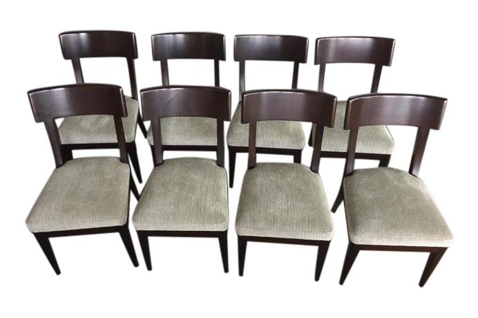 Holly Hunt Terra Dining Chairs By Christian Liaigre   Set Of 8