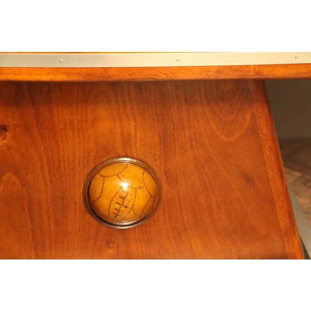 1930s French Foosball Table For Sale - Image 12 of 13