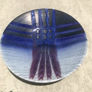 Mark Matsui Cobalt & Blue Signed Studio Pottery Bowl Preview