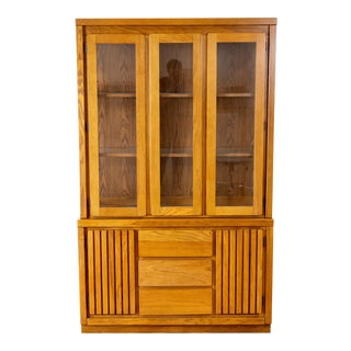 Pure & Simple China Hutch For Sale