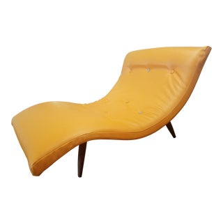 1950s Vintage Adrian Pearsall Chaise Lounge For Sale