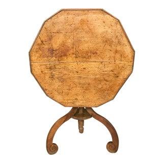 Antique Tilt Top Tea, Side Table