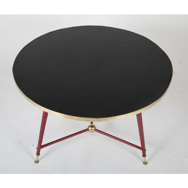 Pair Of Jules Leleu Side Tables For Sale - Image 12 of 13
