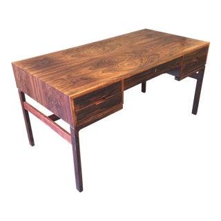 Arne Wahl Iverson Rosewood Desk