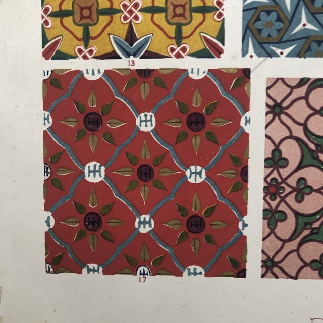 Persian Print From Grammar of Ornament For Sale - Image 11 of 12