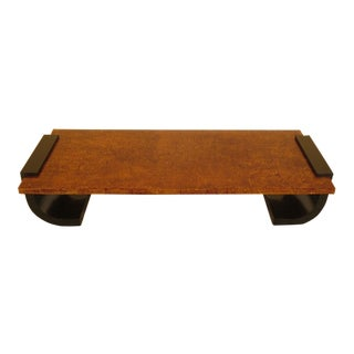 Asian Modern Large Coffee Cocktail Table