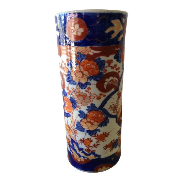 Antique Export Imari Vase - Image 1 of 6