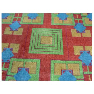Original Art Deco Rug From the Arizona Biltmore by Albert Chase McArthur Sale!!! For Sale
