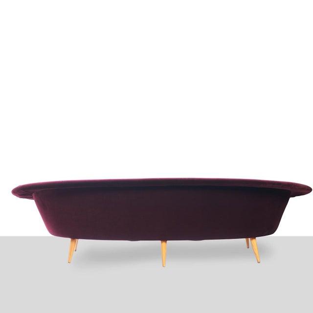 Kerstin Hörlin-Holmquist Swedish Three-Seat Sofa Attributed to Kerstin Horlin Holmquist For Sale - Image 4 of 7