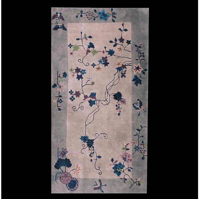 Antique Art Deco Chinese Rug For Sale In New York - Image 6 of 6