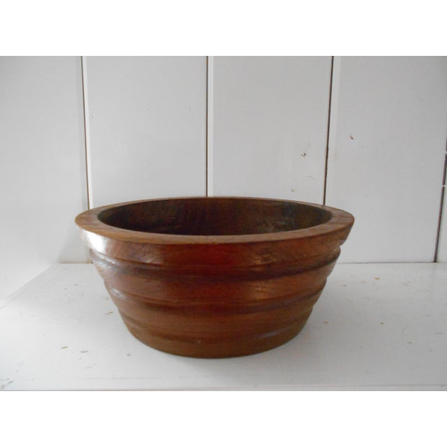 Vintage Teak Bowl - Image 3 of 7