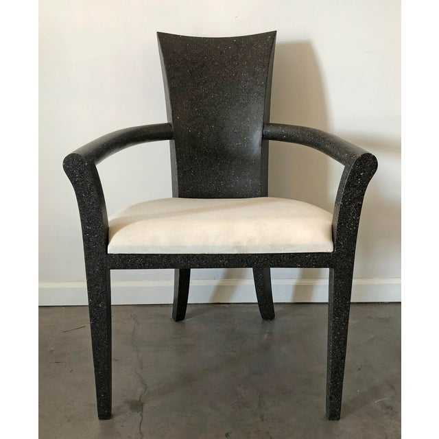 Stone Solid Terrazzo Armchair by Carlo Furniture For Sale - Image 7 of 7