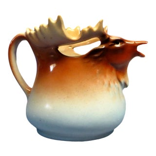 Midcentury Porcelain Moose Creamer