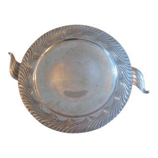 A Silver Art Deco Bowl by Alfred Kintz for International Silver