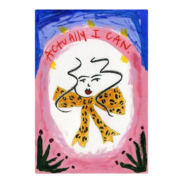 """Actually I Can"" Contemporary Giclée A4 Print For Sale"
