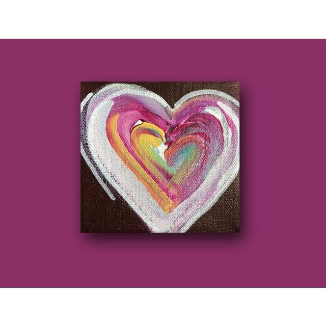 'Chocolate Heart' Original Painting by Linnea Heide - Image 3 of 5