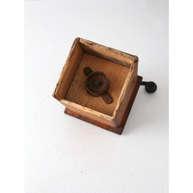 Antique Coffee Grinder For Sale - Image 6 of 7