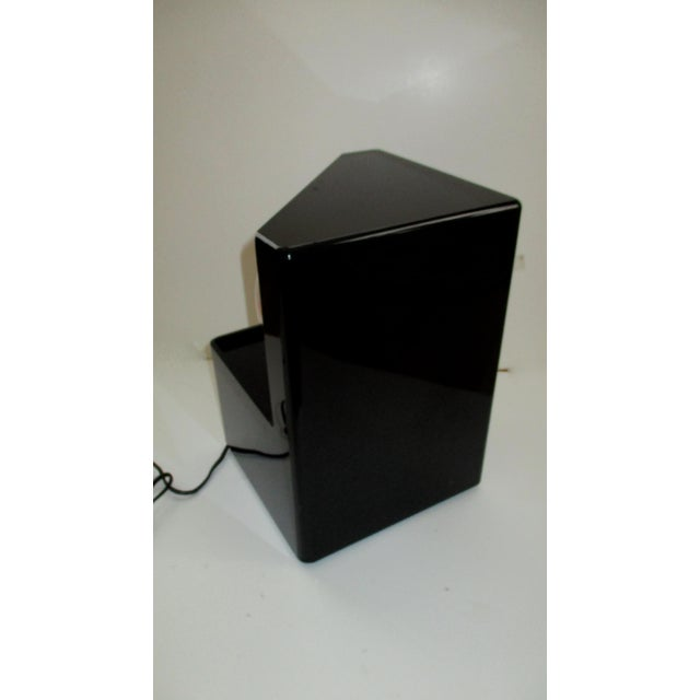1980s Optic Illusion Table Lamp - Image 9 of 11