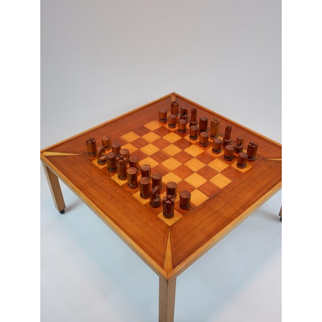 Vintage Mid-Century Modern Chess / Game Table by Lane For Sale - Image 11 of 11