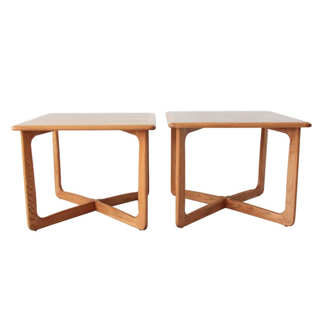 Vintage Mid Century Lane End Tables - Pair - Image 1 of 7