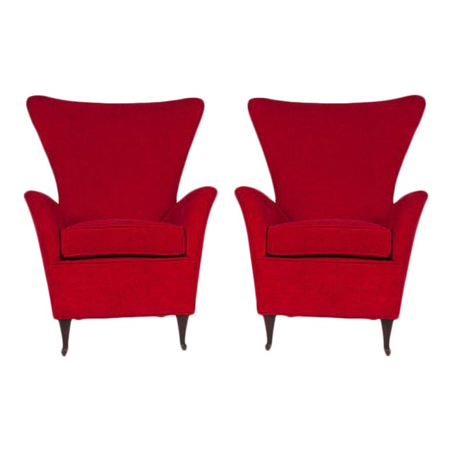Italian 50s Armchairs For Sale