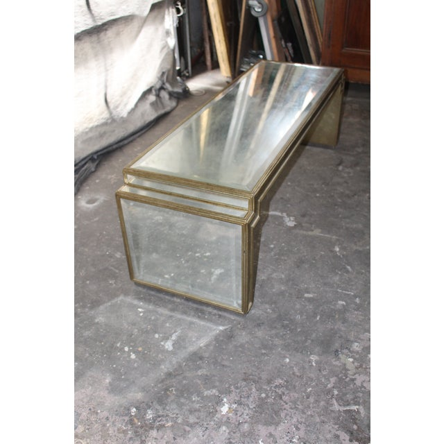Mid 20th Century Vintage Mid-Century Mirrored Coffee Table For Sale - Image 5 of 6