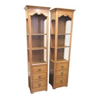 John Stuart NY Tall Cabinet - A Pair For Sale