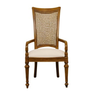 Thomasvillle Furniture Pageantry Collection Dining Arm Chair For Sale