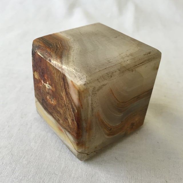 Vintage Agate Cube - Image 4 of 4