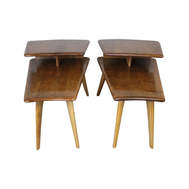 Heywood-Wakefield End Tables - A Pair - Image 1 of 7