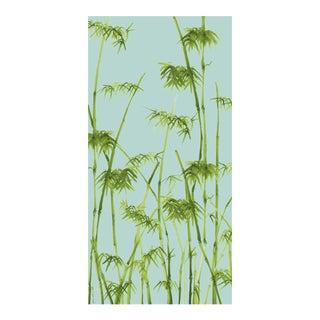 Bambusa Breeze/Peridot Linen Cotton Fabric, 3 Yards For Sale