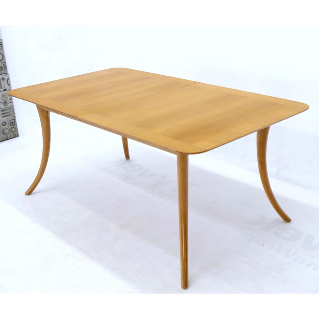 Brown Gibbings for Widdicomb Klismos Style Dining Table with Two Extension Boards For Sale - Image 8 of 13