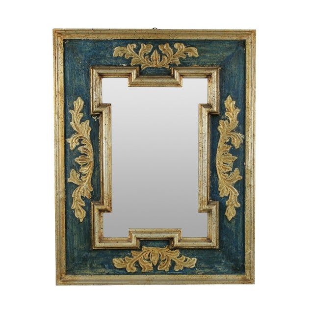 Mid-Century Modern A Mid Century Florentine Mirror For Sale - Image 3 of 3