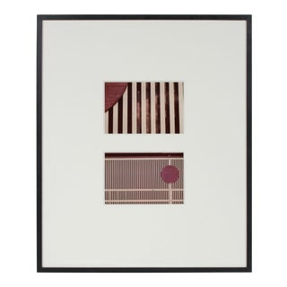 """""""City Art 70"""" Abstract San Francisco Color Photograph Diptych, 1970s For Sale"""