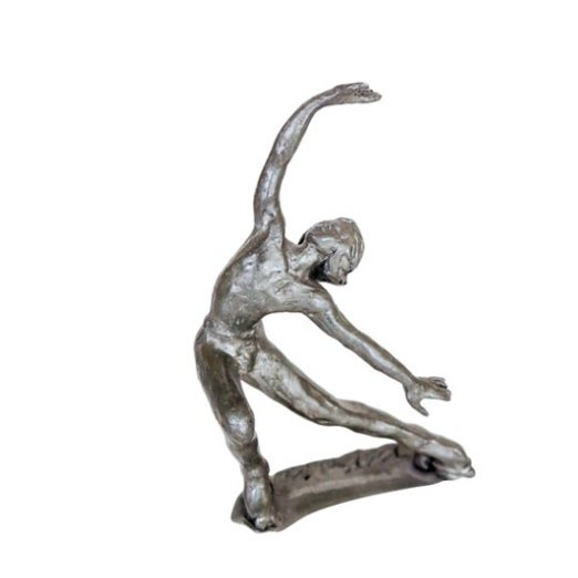 Pewter Roller Skater Figurine - Image 1 of 4