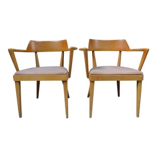 Mid-Century Heywood-Wakefield Chairs - A Pair For Sale