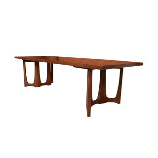 Mid Century Broyhill Brasilia Sculpted Coffee Table For Sale