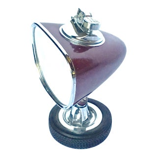 Mid-Century Modern Automobile Mirror Style Lighter For Sale