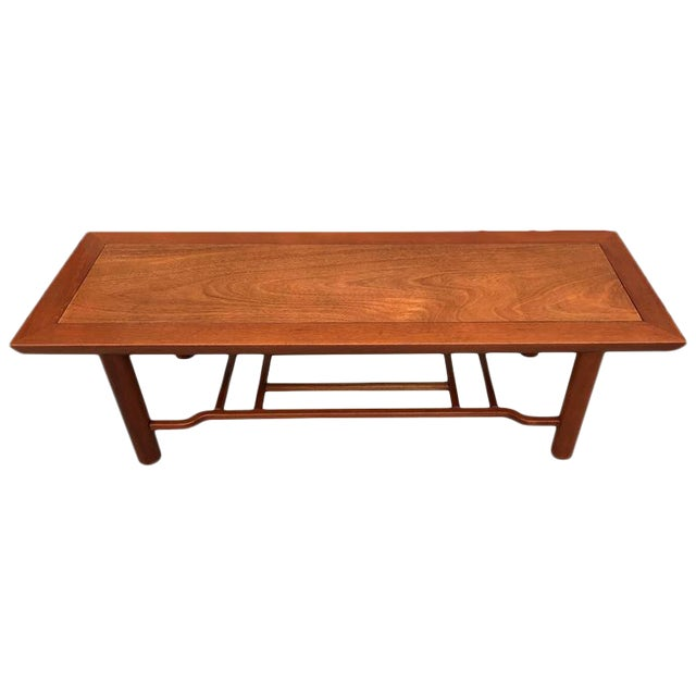 Henredon Heritage Mahogany Coffee Table For Sale