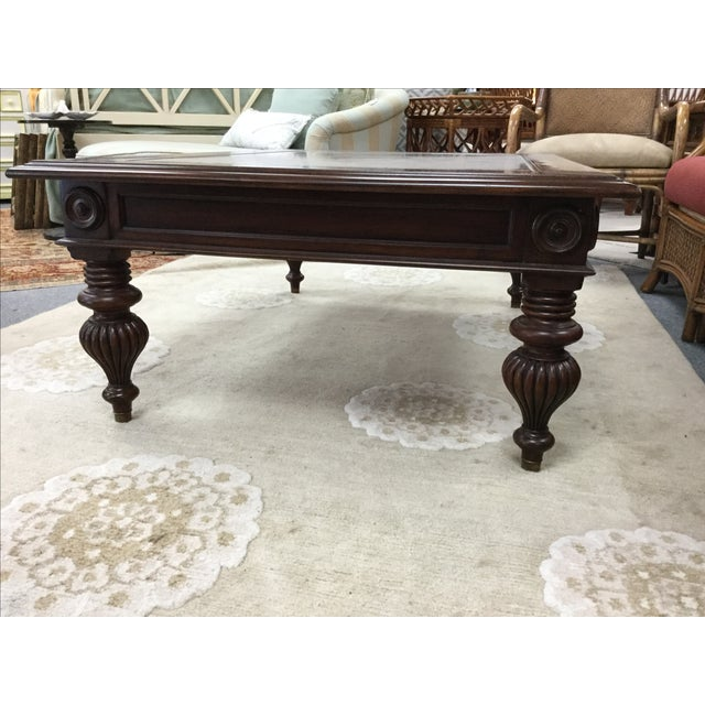 Ethan Allen British Colonial Coffee Table Image 3 Of 6