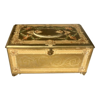 """With Love to Mother"" Tin Chest Box For Sale"