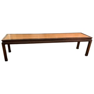 1950s Vintage Edward Wormley for Dunbar Early Long Coffee Table For Sale