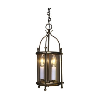 Classic French Round Lantern For Sale