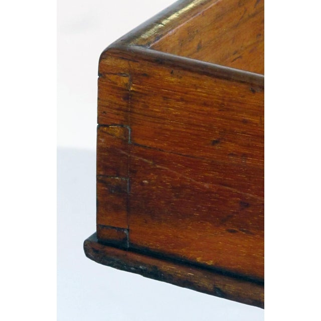 Early 19th Century Large English Regency Mahogany Butler's Tray on Stand For Sale - Image 5 of 11