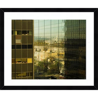 """""""Glass Canyon"""" Contemporary Photograph by John Manno, Framed For Sale"""