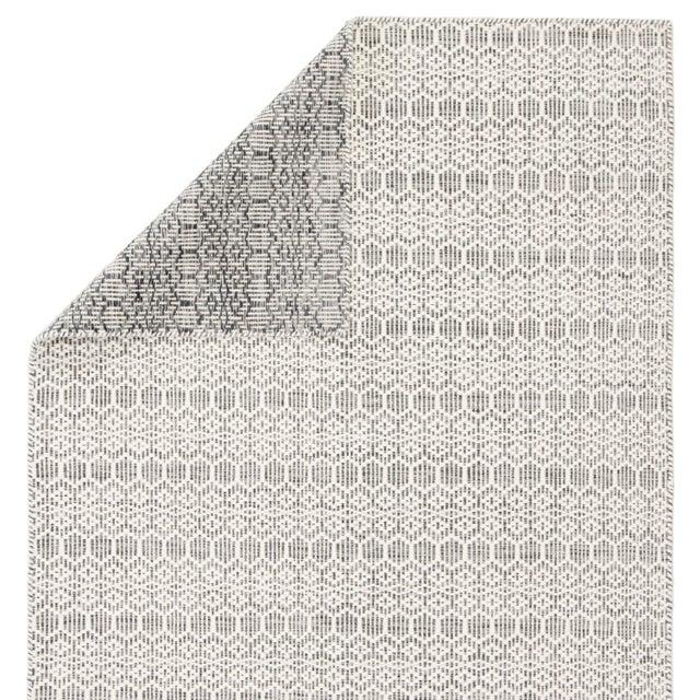 Jaipur Living Calliope Handmade Trellis White/ Gray Area Rug - 8′9″ × 12′ For Sale - Image 4 of 6
