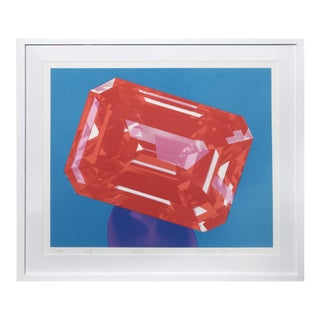Richard Bernstein, Ruby, Silkscreen