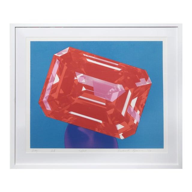 Richard Bernstein, Ruby, Silkscreen For Sale